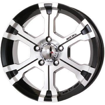 タイヤはフジ 送料無料 MKW MK-36 7J 7.00-16 BFG BFグッドリッチ マッドテレーンT/A KM3 235/70R16 16インチ サマータイヤ ホイール4本セット