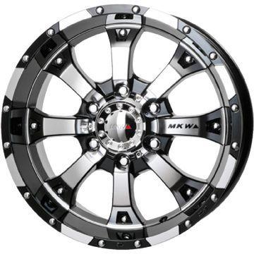 【送料無料 6穴/139】 MICHELIN ミシュラン X-ICE 3プラス 265/65R17 17インチ スタッドレスタイヤ ホイール4本セット MKW MK-46 8J 8.00-17