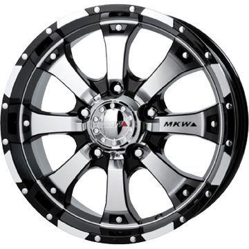 【送料無料】 285/60R18 18インチ MKW MK-46 8.5J 8.50-18 NITTO ニットー TERRA GRAPPLER サマータイヤ ホイール4本セット