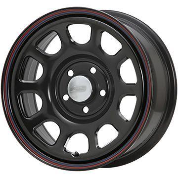 タイヤはフジ 送料無料 MLJ デイトナSS 7J 7.00-16 YOKOHAMA ジオランダー SUV G055 215/70R16 16インチ サマータイヤ ホイール4本セット
