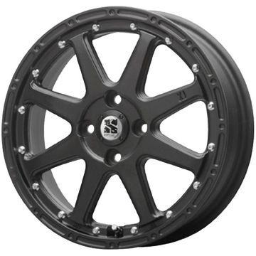 タイヤはフジ 送料無料 MLJ エクストリームJ 4.5J 4.50-15 INTERSTATE インターステート ECOツアープラス(限定) 165/55R15 15インチ サマータイヤ ホイール4本セット
