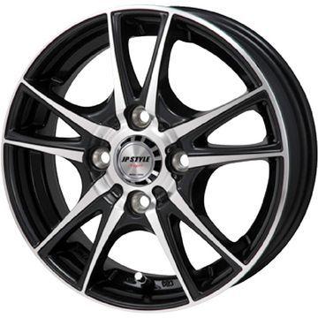 タイヤはフジ 送料無料 MONZA モンツァ JPスタイルヴォーゲル 4J 4.00-13 145/80R13 13インチ BRIDGESTONE エコピア NH100 C サマータイヤ ホイール4本セット