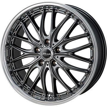 タイヤはフジ 送料無料 MONZA モンツァ ワーウィック ディープランド 8J 8.00-18 NITTO NT555 G2 235/50R18 18インチ サマータイヤ ホイール4本セット