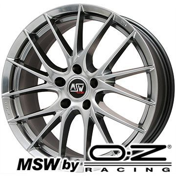 日本に 【取付対象】【送料無料 MINI(F60)】 FALKEN ファルケン エスピア W-ACE 225/55R17 17インチ スタッドレスタイヤ ホイール4本セット 輸入車 MSW by OZ Racing MSW 29(ハイパーダーク) 7.5J 7.50-17, エクセルワールド d0d88bfb