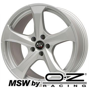【送料無料 MINI(F60)】 225/55R17 17インチ MSW by OZ Racing MSW 47(フルシルバー) 7.5J 7.50-17 SAFFIRO サフィーロ SF5000(限定) サマータイヤ ホイール4本セット 輸入車