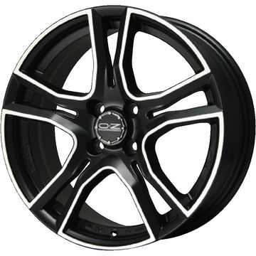 タイヤはフジ 送料無料 OZ X-LINE アドレナリーナ 5J 5.00-16 YOKOHAMA DNA Sドライブ 165/40R16 16インチ サマータイヤ ホイール4本セット