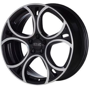 タイヤはフジ 送料無料 OZ X-LINE ウェーブ 7J 7.00-17 YOKOHAMA アドバン フレバV701 195/45R17 17インチ サマータイヤ ホイール4本セット