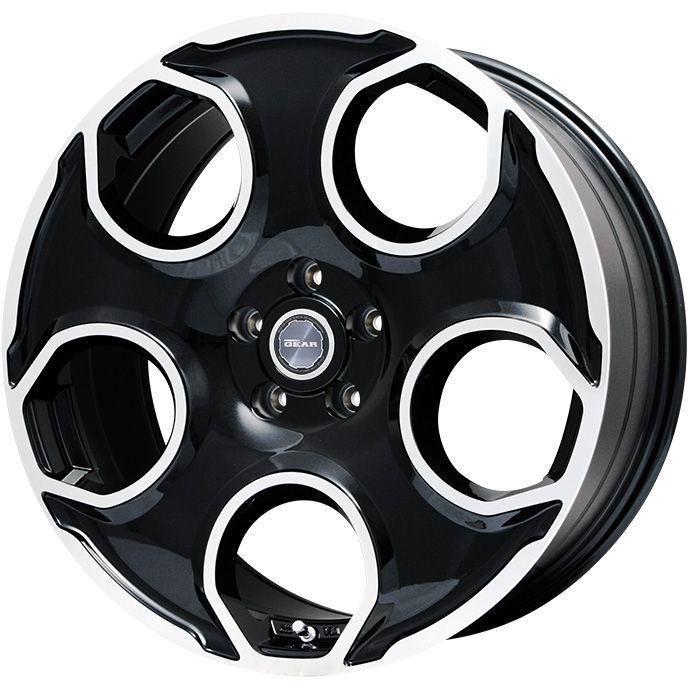 送料無料 245 45R20 20インチ PREMIX 即出荷 プレミックス ギア パールブラックポリッシュ 限定 ミシュラン ホイール4本セット 安い クロスクライメート 8.50-20 SUV オールシーズンタイヤ 8.5J MICHELIN