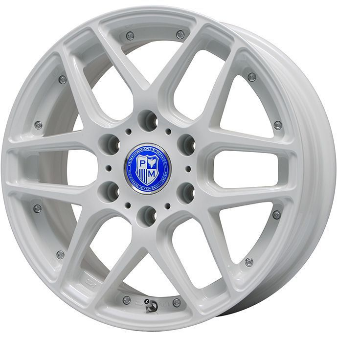 タイヤはフジ 送料無料 NV350キャラバン PREMIX プレミックス ミュンスター(ホワイト)限定 7.5J 7.50-18 INTERSTATE インターステート ECOツアープラス(限定) 225/50R18 18インチ サマータイヤ ホイール4本セット