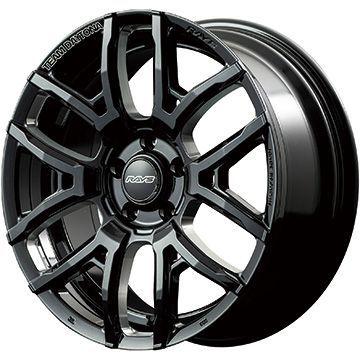 【送料無料】 235/55R18 18インチ RAYS デイトナ F6ドライブ 7.5J 7.50-18 FALKEN アゼニス FK510 SUV サマータイヤ ホイール4本セット