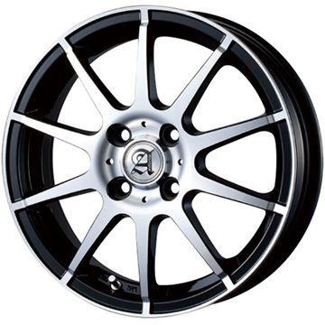 タイヤはフジ 送料無料 TECHNOPIA テクノピア アドニス HSR 4.5J 4.50-15 INTERSTATE インターステート ツーリングGT(限定) 165/60R15 15インチ サマータイヤ ホイール4本セット