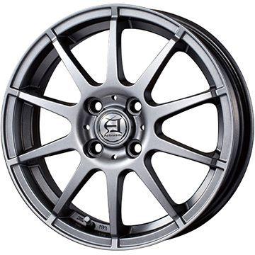 タイヤはフジ 送料無料 TECHNOPIA テクノピア アフロディーテ HS 5.5J 5.50-14 YOKOHAMA ブルーアース A(AE50) 175/70R14 14インチ サマータイヤ ホイール4本セット