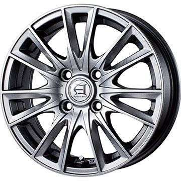 タイヤはフジ 送料無料 TECHNOPIA テクノピア アフロディーテ EF 5J 5.00-15 BRIDGESTONE エコピア NH100 C 165/55R15 15インチ サマータイヤ ホイール4本セット