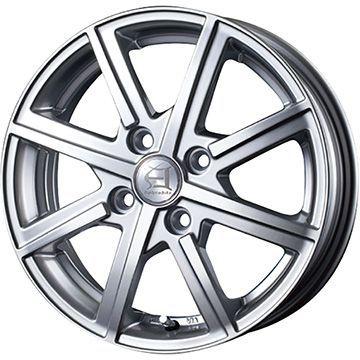 タイヤはフジ 送料無料 N-BOX専用 TECHNOPIA テクノピア アフロディーテ TWS限定 4J 4.00-13 KENDA コメットプラス KR23 145/80R13 13インチ サマータイヤ ホイール4本セット