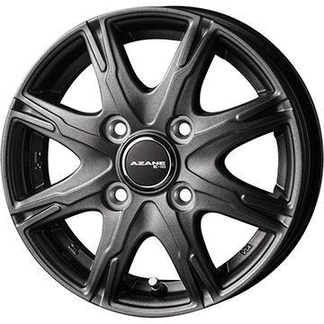 タイヤはフジ 送料無料 TOPY トピー アザーネ E10 4J 4.00-13 KENDA コメットプラス KR23 155/65R13 13インチ サマータイヤ ホイール4本セット