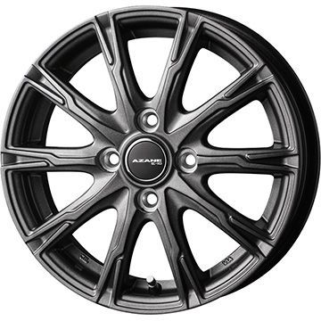 タイヤはフジ 送料無料 TOPY トピー アザーネ E10 4.5J 4.50-15 FALKEN ジークス ZE914F 165/50R15 15インチ サマータイヤ ホイール4本セット
