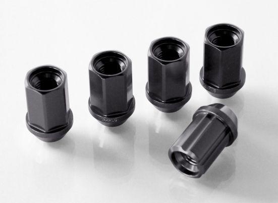 ジュラルミン冷間鍛造ナット&ロックセット(カンツー チタニウム) 19HEX 12×P1.25のみ ※タイヤ・ホイールと一緒にご購入の場合は1,080円差し引き致します。
