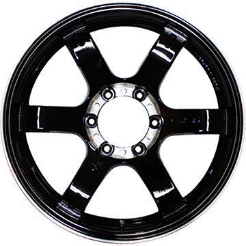 【送料無料】 285/60R18 18インチ TWO HOT バックナイン GL改 8J 8.00-18 NITTO ニットー TERRA GRAPPLER サマータイヤ ホイール4本セット