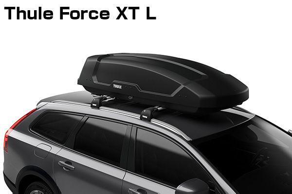 送料無料(一部離島除く) ※個人宅配送不可 THULE スーリー Force XT L(ブラック) ルーフボックス フジコーポレーション