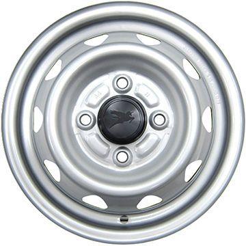 タイヤはフジ 送料無料 ELBE エルベ オリジナル スチール 3.5J 3.50-12 KENDA コメンド KR33 6PR 145/80R12 145R12 12インチ サマータイヤ ホイール4本セット