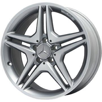 【送料無料 ベンツAクラス(W176)/CLA(C117)】 225/40R18 18インチ AMG 5ツインスポーク 7.5J 7.50-18 PIRELLI P-ZERO MO BENZ承認 サマータイヤ ホイール4本セット 輸入車