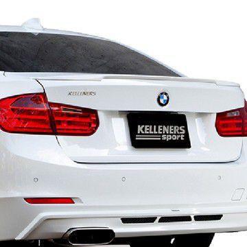 送料無料(一部離島除く) KELLENERS リアトランクスポイラー BMW 3シリーズ(2012~ F30 )