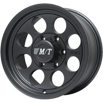 【送料無料】 MICKEY-T ミッキートンプソン クラシック3 ブラック ホイール単品4本セット 8.00-15 15インチ