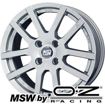 【送料無料 VW up!】 185/55R15 15インチ MSW by OZ Racing MSW 22(H)【限定】 6.5J 6.50-15 DUNLOP ルマン V(ファイブ) サマータイヤ ホイール4本セット 輸入車【DUsum20】