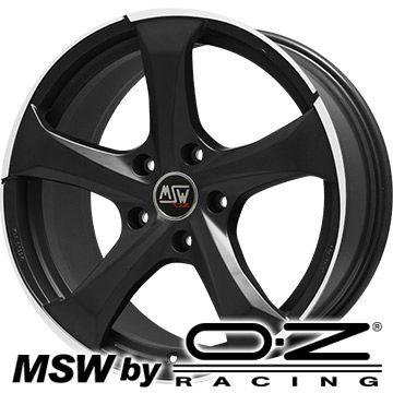【送料無料】 MSW by OZ Racing MSW MSW 47(マットダークチタニウムポリッシュ) ホイール単品4本セット 7.50-17 17インチ