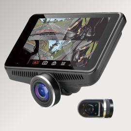【次回12月予定】送料無料(一部離島除く) LX-MODE WATEX DVR-360-2G カメラ360°超広角視野ドライブレコーダー(リアカメラ付き) ドラレコ