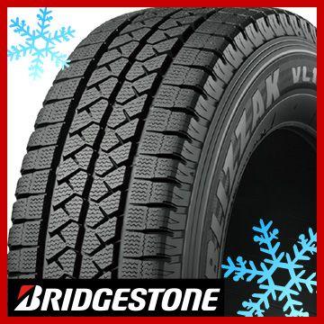 取付対象 送料無料 BRIDGESTONE 国際ブランド ブリヂストン ブリザック VL1 スタッドレスタイヤ単品1本価格 8P 195R14 8PR 新商品!新型