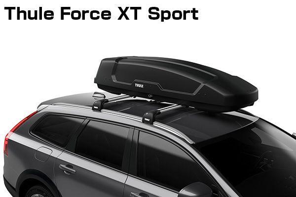 送料無料(一部離島除く) ※個人宅配送不可 THULE スーリー Force XT Sport(ブラック) ルーフボックス フジコーポレーション