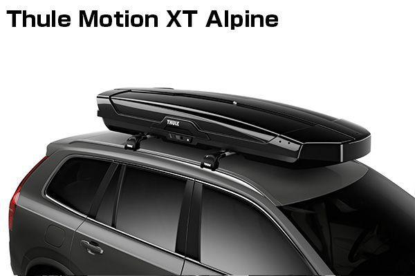 送料無料(一部離島除く) ※個人宅配送不可 THULE スーリー Motion XT Alpine(グロスブラック) ルーフボックス フジコーポレーション
