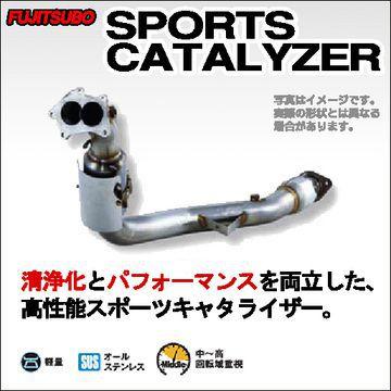 送料無料(一部離島除く) FUJITSUBO フジツボ SPORTS CATALYZER スポーツキャタライザー スバル インプレッサ WRX STI(2007~ GRB・GRF GRB) フジコーポレーション