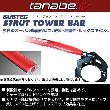 送料無料(一部離島除く) TANABE タナベ サステック ストラットタワーバー ホンダ フリード+(2016~ GB5・GB6・GB7・GB8 GB5) フジコーポレーション