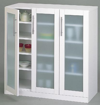 【送料無料】カトレア食器棚90-90(23464)【代引不可】