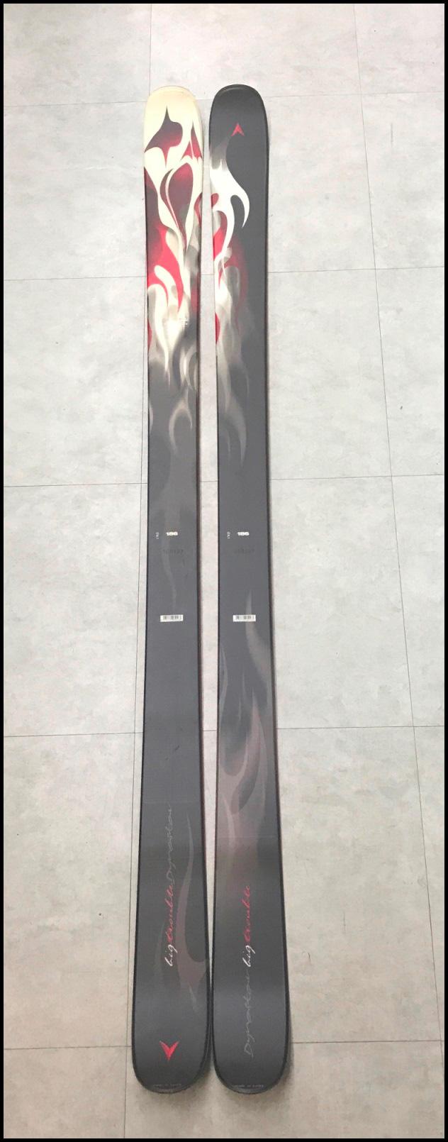 ≪大特価!!≫<DYNASTAR>スキー板 BIG TROUBLE 124-92-114 mm  R-23 m  186cm