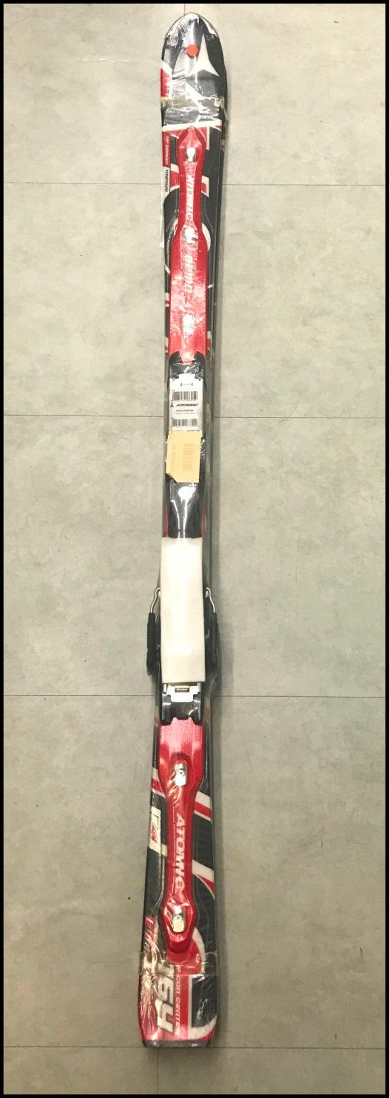 ≪大特価!!≫[☆大特価商品☆]<ATOMIC>スキー板 D2デモVF-I+ネオックスTL12(76) 115.5-72-103 R=16.0m 172cm