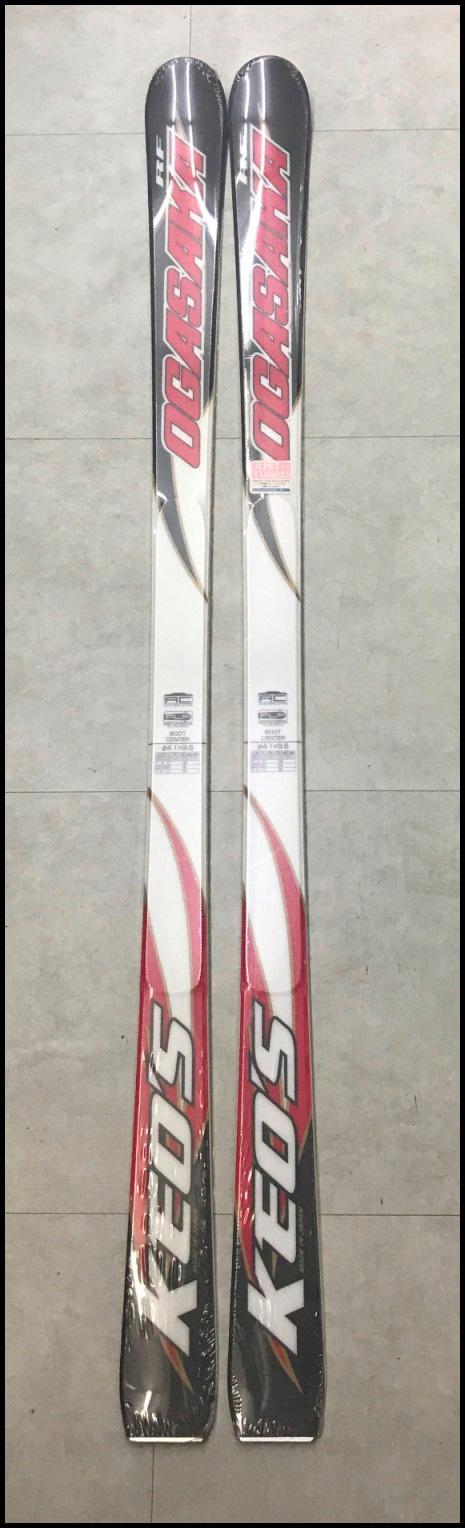 ≪大特価!!≫[☆大特価商品☆]<OGASAKA>スキー板 ケオッズKS-FX 114-65-102/R=13.0m 170cm