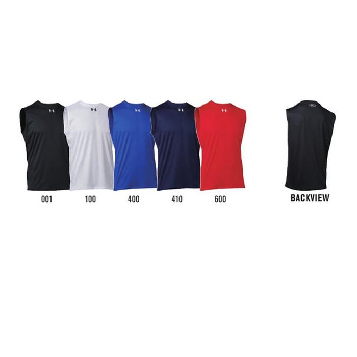 UNDER ARMOUR メンズ チームストック ノースリーブ Tシャツ 袖なし ルーズフィット アンダーアーマー T TS UA チーム対応 メール便で送料無料 LOCKER お買い得 ノースリーブシャツ SL 中古 1314086