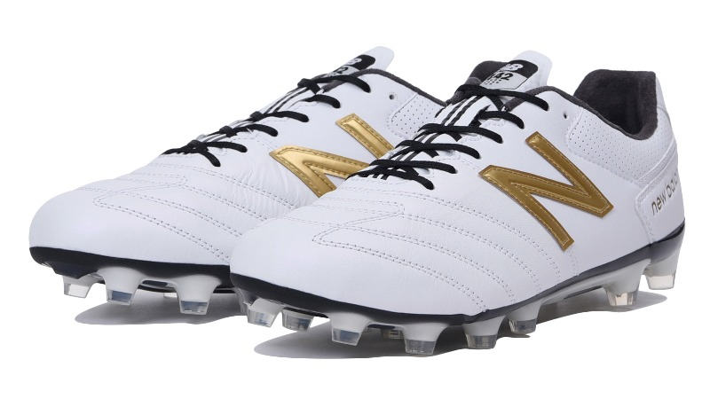 <NB>サッカースパイク 442 PRO HG WG1MSCKH WG1 WHITE/GOLD ホワイト/ゴールド