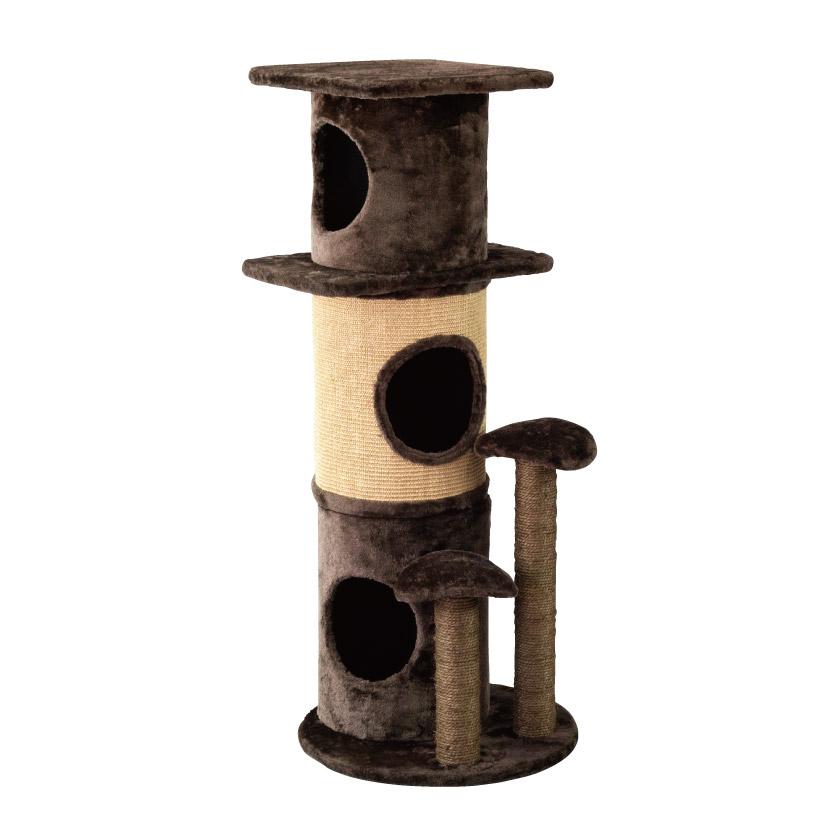 @【SALE 40%OFF!】 「PAW-PAW」 キャット タワー Cat Tower SPICE スパイス HMLY4050 ペットグッズ ネコ 猫 犬 室内 遊び 運動不足 肥満 トンネル 爪研ぎ