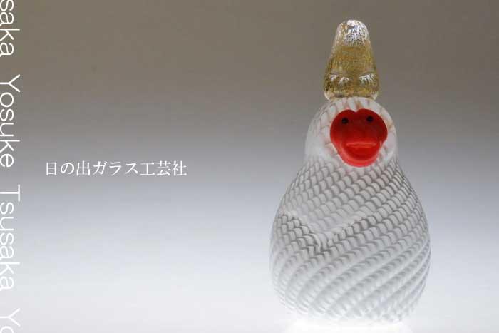 「申の干支(鳥帽子)」干支の申の置物 2016年干支 申年 猿の置物の販売・通販 ガラスオブジェ・風水・水晶