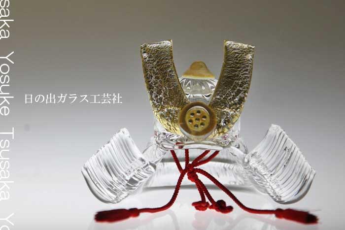 【送料無料】「ガラスの兜 ブリリアントクリア」兜・端午の節句・五月人形・節句・5月5日・販売・通販・お祝い・ギフトプレゼントに