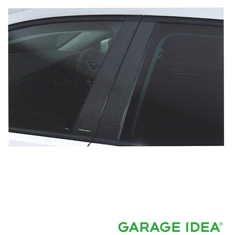 フォルクスワーゲン Volkswagen 純正 アクセサリー Golf 【ゴルフ】カーボンピラーガーニッシュ【J5GVC1B01A】DBA-AUCJZ DBA-AUCPT パーツ