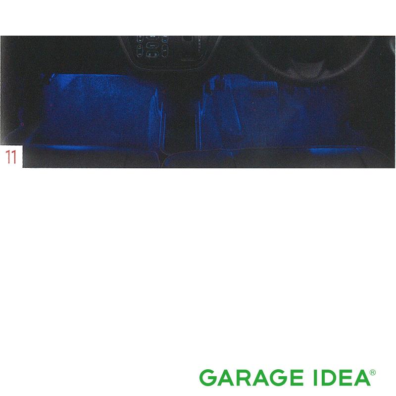 NISSAN 日産 純正 アクセサリー DAYZROOX デイズルークスフットウェル (LED青色発光:フロントセット)【B6400-6A450】 B21A DSDB1 パーツ