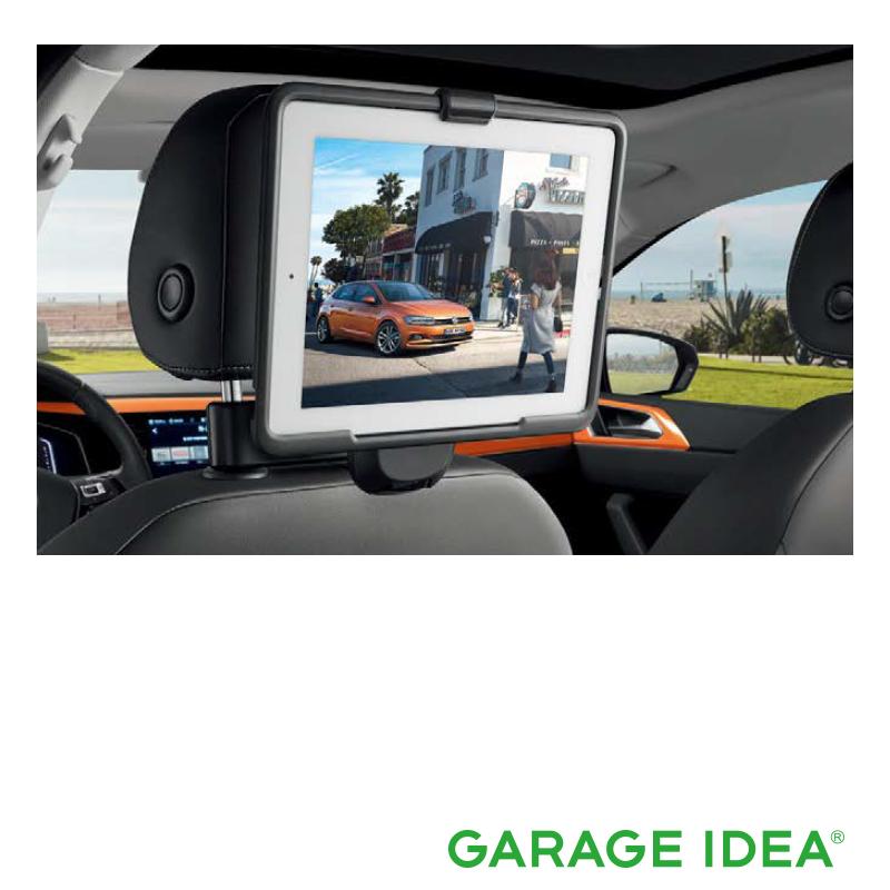 フォルクスワーゲン Volkswagen 純正アクセサリー New Polo【ポロ】iPad 2-4 ホルダー【000061125A】ABA-AWCHZ ABA-AWCZP パーツ