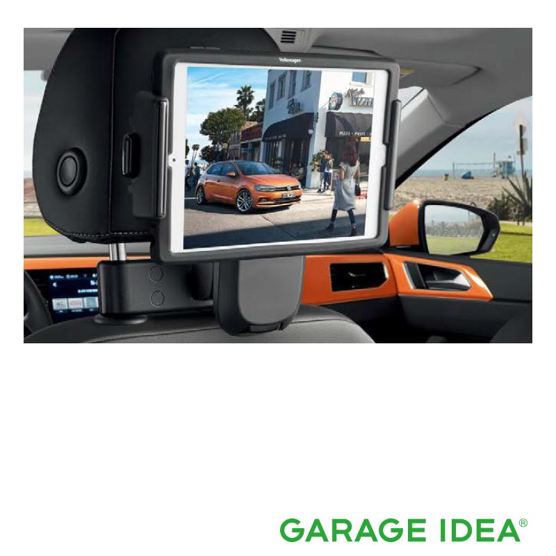 フォルクスワーゲン Volkswagen 純正アクセサリー New Polo【ポロ】iPad mini ホルダー【000061125B】ABA-AWCHZ ABA-AWCZP パーツ