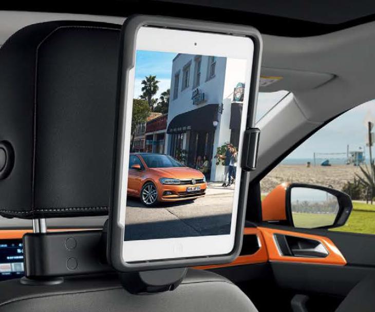 フォルクスワーゲン Volkswagen 純正アクセサリー New Polo【ポロ】iPad Air ホルダー【000061125E】ABA-AWCHZ ABA-AWCZP パーツ