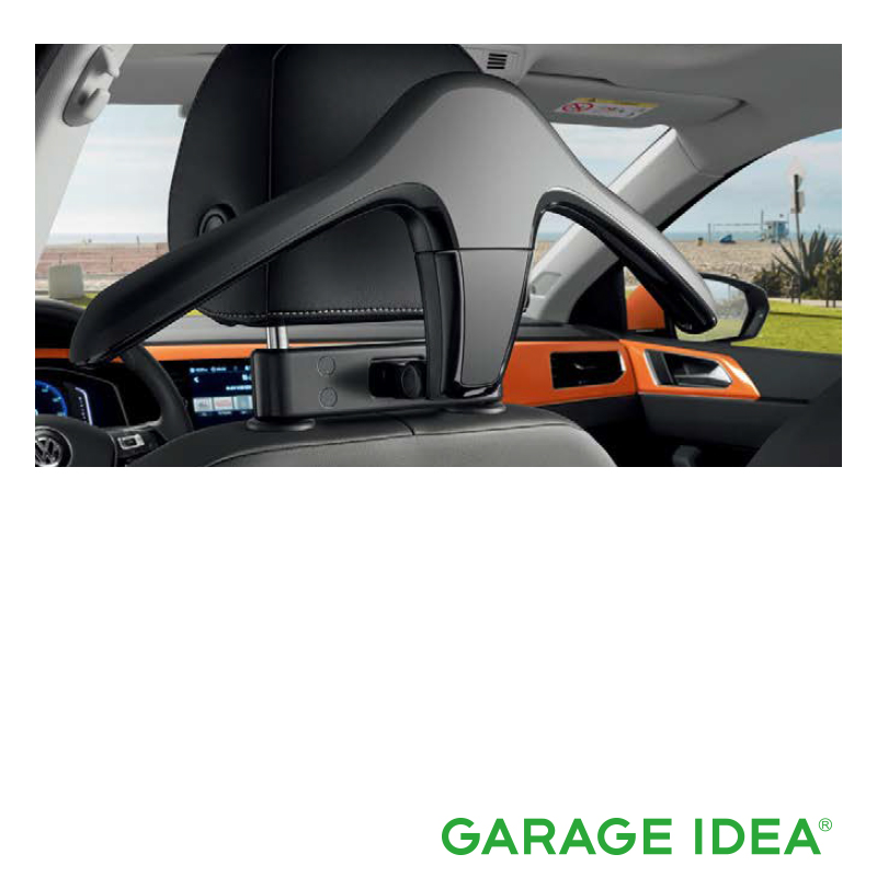 フォルクスワーゲン Volkswagen 純正アクセサリー New Polo【ポロ】ハンガー【000061127B】ABA-AWCHZ ABA-AWCZP パーツ
